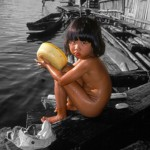 ThaiFloatingVillageGirl350x514 (SpotColor – a Purely Magical Photo App)