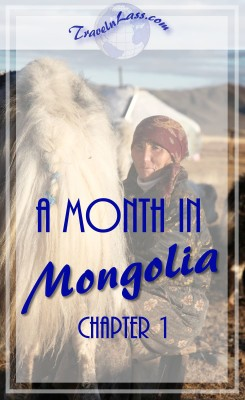 A Month in Mongolia Chapter 1 - Milking Yaks