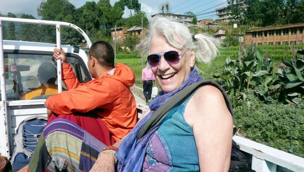 The BEST was the (most serendipitous) hitchhike back to Kathmandu with the monks!
