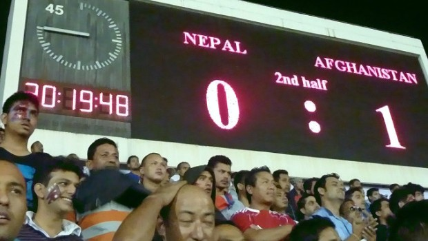 And then the time ran out - stunned fans...