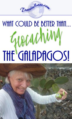What could be better than Geocaching in the Galapagos Islands?