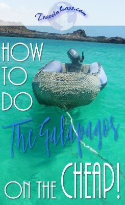 How to do the Galapagos Island on the CHEAP!