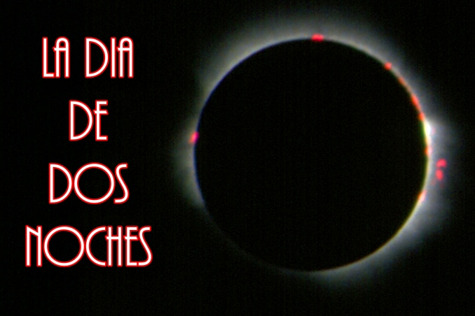 Foto Flip Friday June 2015 Theme: Costa Rica Total Solar Eclipse Postcard photo Front
