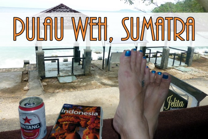 Foto Flip Friday July 2015 Theme: Toes in Situ, Pulau Weh, Sumatra, Indonesia Postcard photo Front