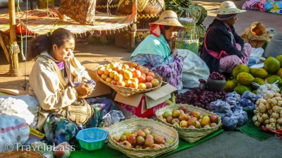 The weekly market proved worth hanging around Kalaw for.
