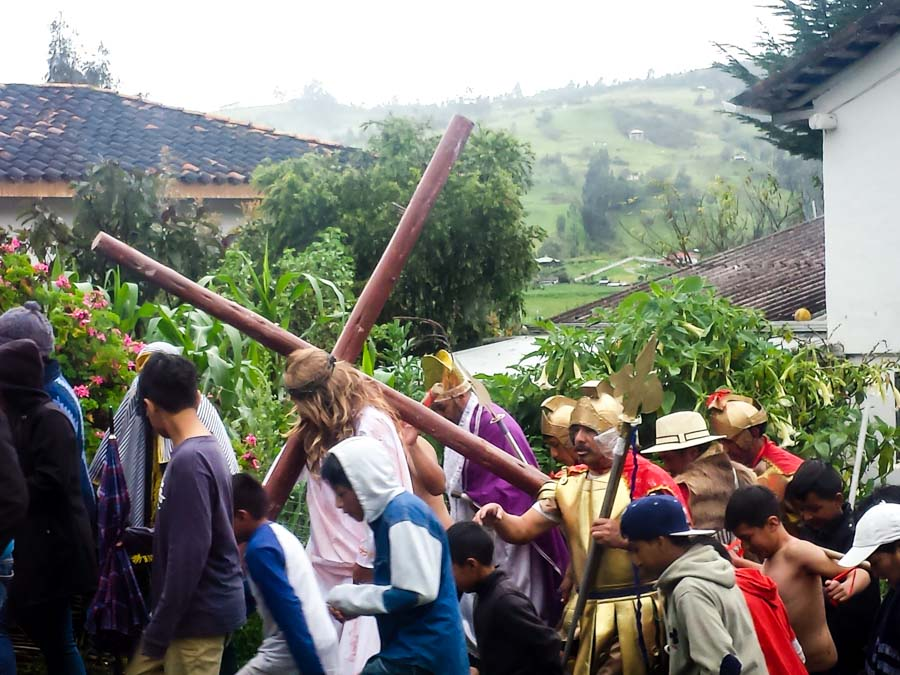Good Friday Crucifiction Procession, Jima, Ecuador