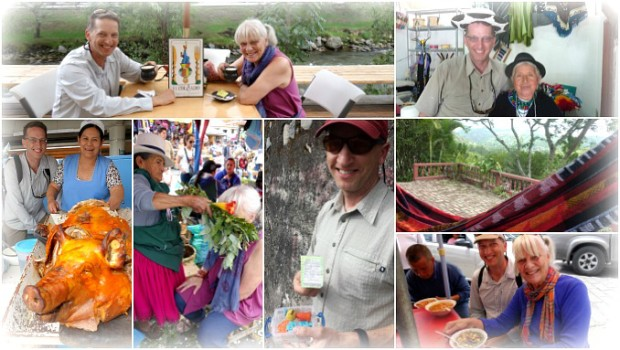 Peter's Visit to Cuenca Collage