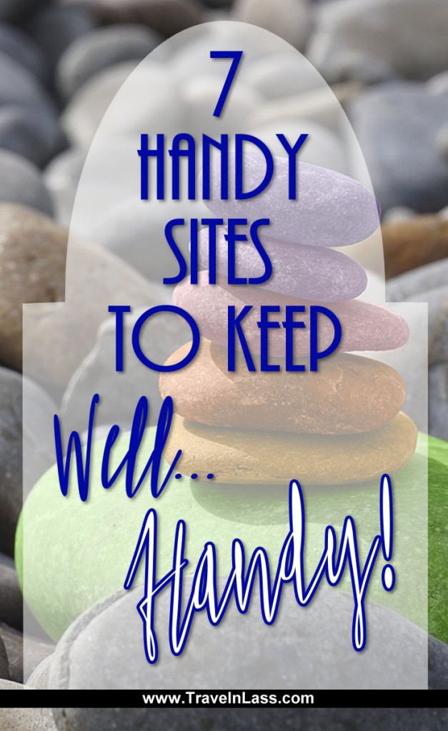 7 Handy Sites to Keep, well... HANDY!