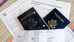 Application for transferring an Ecuador 9 I visa to a new passport