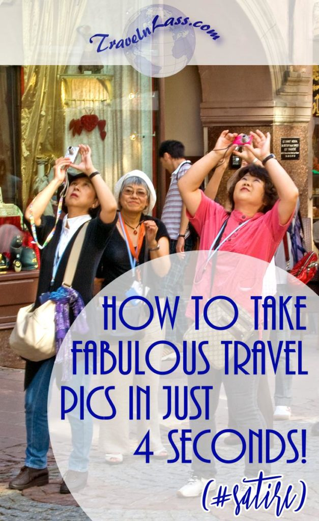 Learn how to take fabulous travel photos in just 4 seconds!