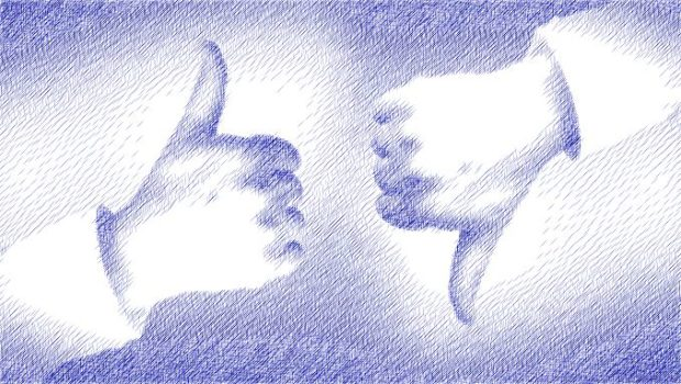 Thumbs-up and Thumbs-down