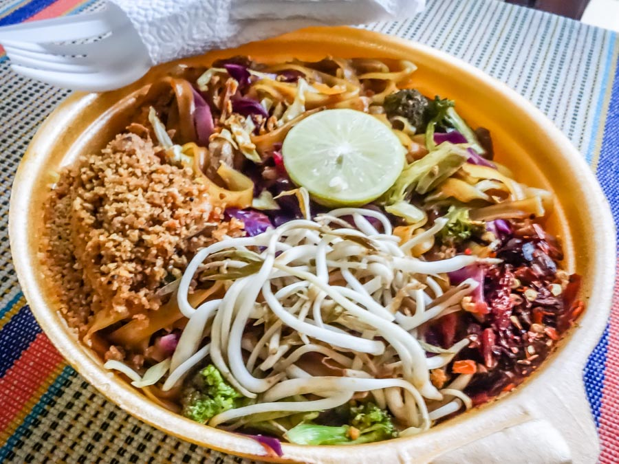 THE most delicious Phad Thai - at a tiny restaurant in Cuenca, Ecuador