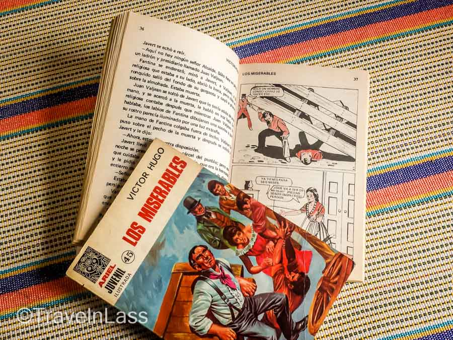 """Los Miserables"" books in Spanish"