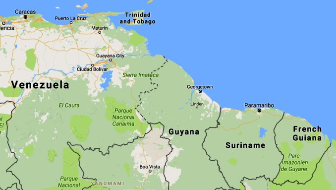 Guyana - Suriname - French Guiana