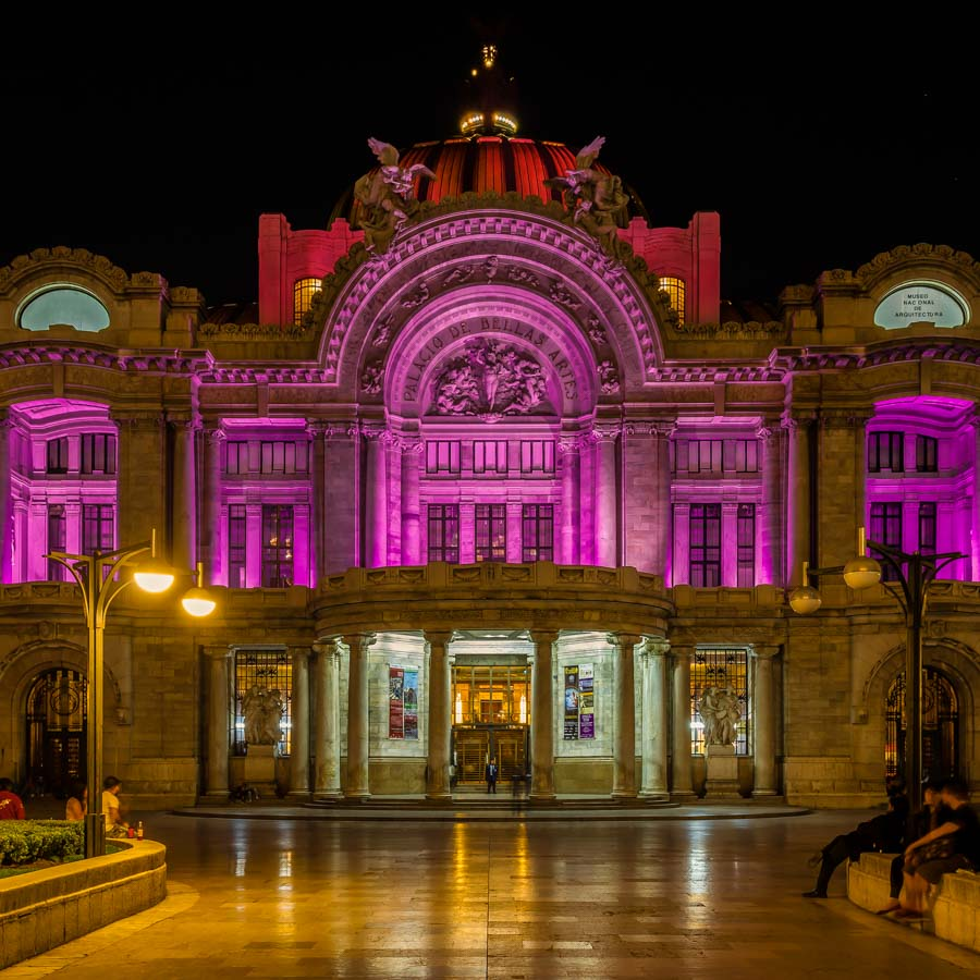 Palacio de Bellas Arts, Mexico City, Mexico