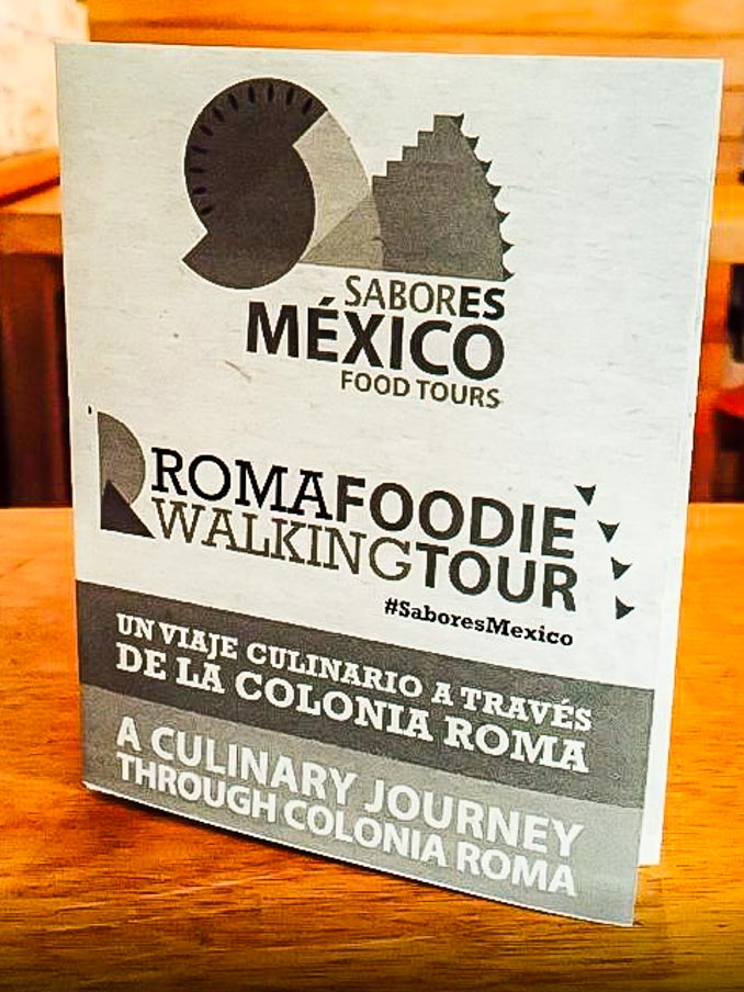 Mexico City Roma Foodie Walking Tour