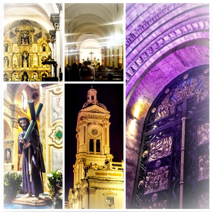 Semana Santa Good Friday Visitation to 7 Churches, Cuenca, Ecuador