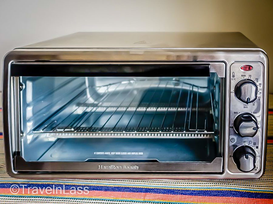 My nifty new toaster oven!