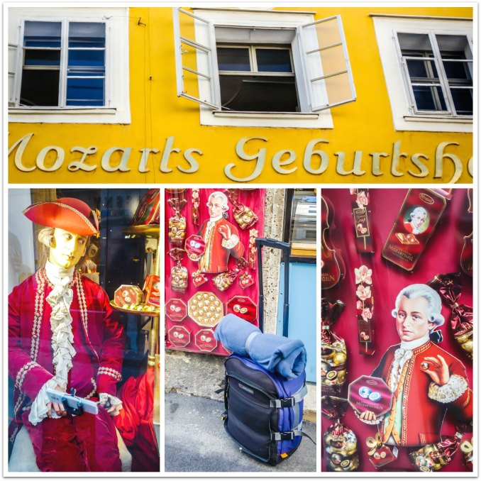 "Salzburg, Austria - ""Mozart"" at every turn!"