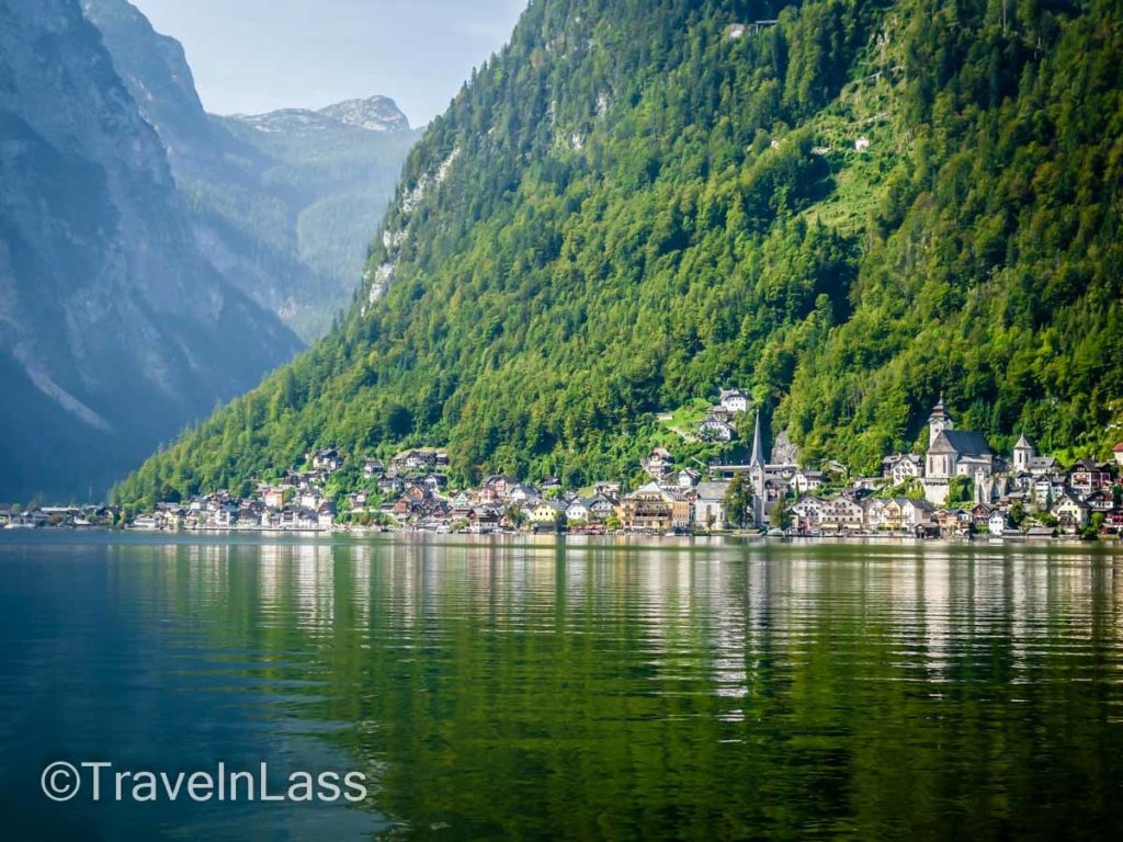 The fairy tale hamlet of Hallstatt, Austria