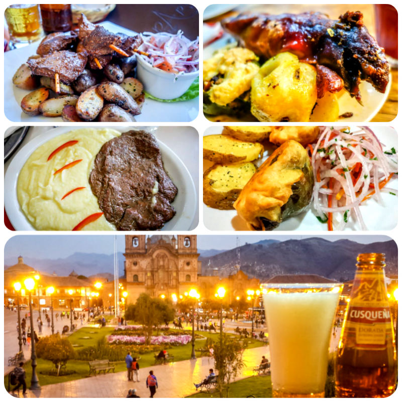 An assortment of the local dishes I enjoyed in Cusco, Peru.